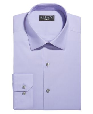 Slim-Fit Stretch Performance Dress Shirt, Created for Macy's