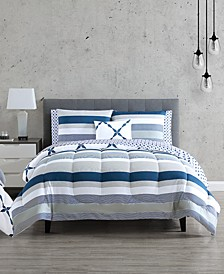 CLOSEOUT! Emmy 12-Pc. Reversible Comforter Sets