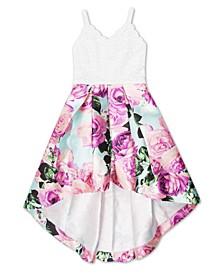 Big Girls Floral Social Dress