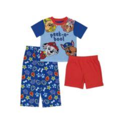 Paw Patrol Toddler Boys 3 Piece Pajama Set