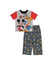 Toddler Boys 2 Piece Pajama Set