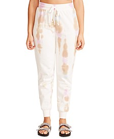 Juniors' Tie-Dye Jogger Pants