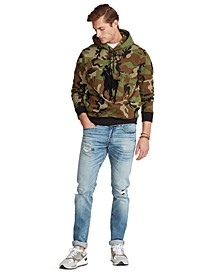 Men's Big & Tall Big Pony Camo Double-Knit Hoodie