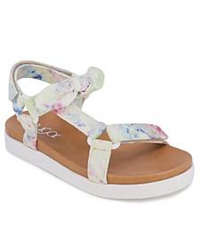 Big Girls Tie Dye Sandals