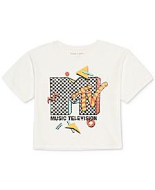Juniors' MTV Graphic-Print T-Shirt