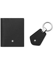 Men's 2-Pc. Set Business Card Holder & Key Fob