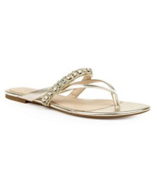 Odina Embellished Thong Sandal