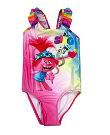 Trolls Toddler Girls 1 Piece  Swimsuit
