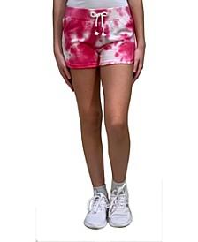 Big Girls Tie-Dye Short with Dolphin Hem