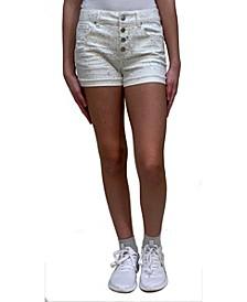 Big Girls Paint Splatter Shorts
