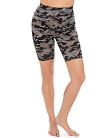 Athleisure Tummy-Control Bike Shorts