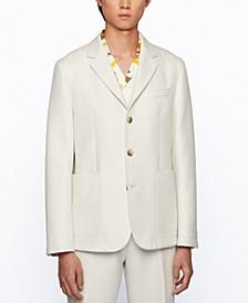BOSS Men's Cotton Slim-Fit Jacket