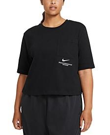 Plus Size Cotton T-Shirt