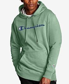 Men's Script Logo Powerblend Hoodie