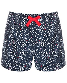 Toddler Girls Ditsy Stars Cotton Shorts, Created for Macy's