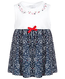 Toddler Girls Ditsy Stars Cotton Tunic, Created for Macy's