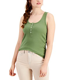 Henley Tank Top, Created for Macy's