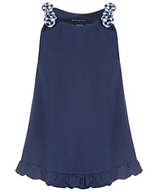 Toddler Girls Ruffled Cotton Tunic, Created for Macy's