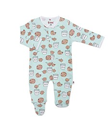 Baby Boy or Girl Cookies Magnetic Footie One Piece