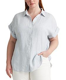 Polo Ralph Lauren Plus Size Dolman Sleeve Top