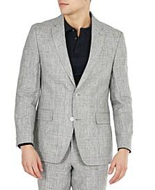 Men's Modern Fit Linen Suit Separate Jackets