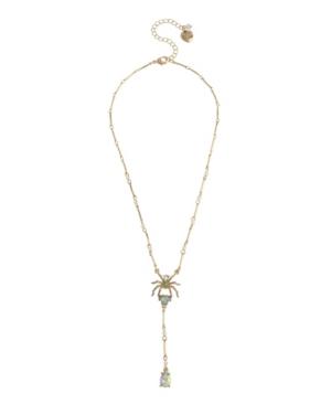 Spider Y Necklace