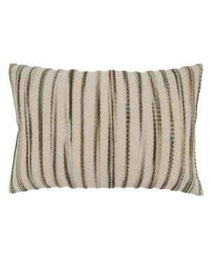 """Saro Lifestyle Pillows THROW PILLOW, 24"""" X 16"""""""
