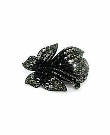 Women's Crystal Coated Butterfly Barrette
