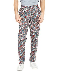 Men's Slim-Fit Floral Vested Suit Separates, Created for Macy's