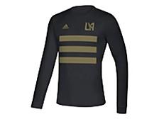 LAFC Men's Three Stripe Life Pitch Creator Long Sleeve T-Shirt