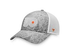 Authentic Headwear Philadelphia Flyers Ice Field Trucker Cap