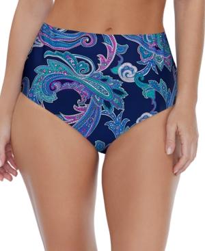 Sea Breeze Printed Bikini Bottoms