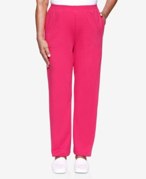 Alfred Dunner Pants WOMEN'S MISSY CLEAN GETAWAY PROPORTIONED MEDIUM PANT