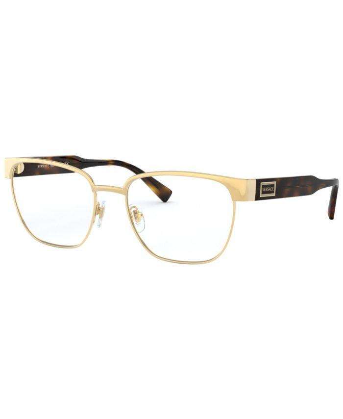 Versace VE1264 Men's Pillow Eyeglasses & Reviews - Home - Macy's