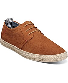 Men's Nicolo Plain Toe Lace Up Espadrille