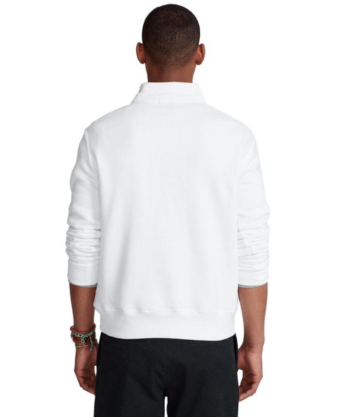 Polo Ralph Lauren Men's Polo Bear Fleece Sweatshirt & Reviews - Hoodies & Sweatshirts - Men - Macy's