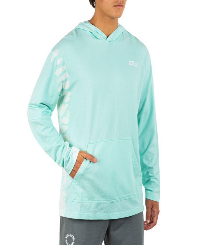 Hurley Men's Modern Surf Poncho Tie Dye Long Sleeve Sweatshirt & Reviews - Hoodies & Sweatshirts - Men - Macy's