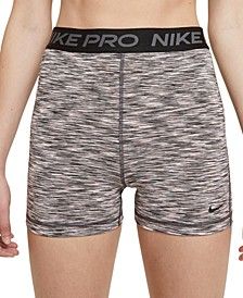 Women's Pro Space-Dyed Fitted Active Shorts