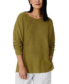 Organic Drop-Shoulder Sweater