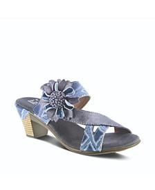 L'Artiste Women's Cassana Slide Sandals