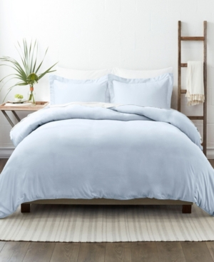 Ienjoy Home Home Collection Premium Ultra Soft 2 Piece Duvet Cover Set, Twin/twin Extra Long Bedding In Light Blue