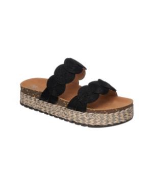 Julian Espadrille Platform Slides Women's Shoes