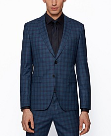 BOSS Men's Extra-Slim-Fit Suit