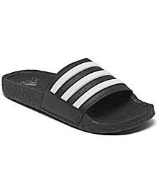 Men's Adilette Boost Slide Sandals from Finish Line