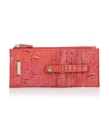 Credit Card Melbourne Embossed Leather Wallet