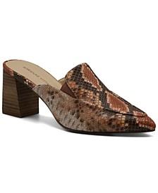 Women's Noril Block Heel Mules