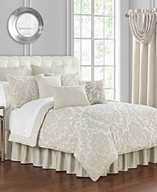 Sutherland Jacquard 4 Piece Comforter Set, King
