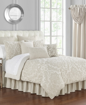 Waterford Comforters & quilts SUTHERLAND JACQUARD 4 PIECE COMFORTER SET, KING BEDDING
