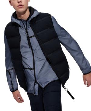 Armani Exchange Men's Linear Logo Windbreaker Jacket