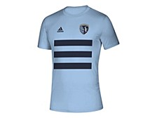 Men's Sporting Kansas City Three Stripe Life Pitch Creator T-Shirt